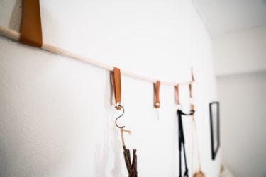 100均DIY!オシャレな壁吊り収納をダイソー購入品で作る方法