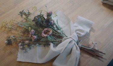 【100均DIY】ダイソーの造花でおしゃれなスワッグの作り方
