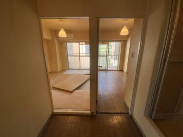 賃貸マンションの空室物件のリフォーム案を考える。