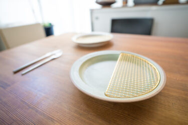 【食器】おしゃれなお皿を見つけました!美濃焼プレート。