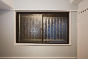【DIYアルミサッシ窓】塗装で古い窓をアイアン風ペイントでモダンにしてみた。