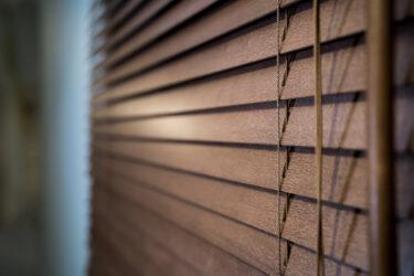 窓にオシャレな木製ブラインドを取り付け!ニトリ(ウッドブラインド)NITORI