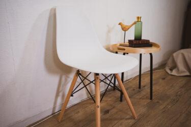 【イームズシェルチェア】お手軽に名作家具デザインを楽しめるリプロダクト品(ジェネリック、レプリカ)を購入。