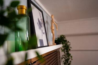 【ikeaイケア】壁掛け棚(ウォールシェルフ)を設置して見せる収納でインテリアをおしゃれに!