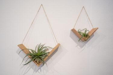 【100均DIY】ダイソー製品でおしゃれな飾り棚の作り方。簡単吊り下げウォールシェルフ