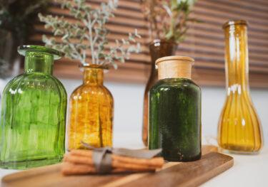 空き瓶リメイク!綺麗に仕上げる方法と注意すること。花瓶、フラワーベース